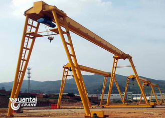 Outside Used Free Standing Bridge Crane Q235B / Q345B For Load And Unload Goods
